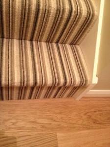 wool stripe carpet