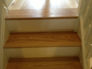 Tarkett Antique Oak, Tarkett Pearl White